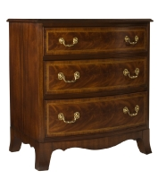 329R Bowfront Bedside Chest