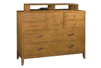 421M Dressing Chest With Media Box