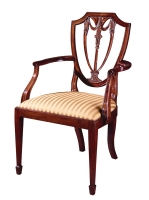 104A Shield Back Arm Chair