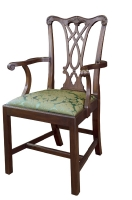 107A Chippendale Arm Chair