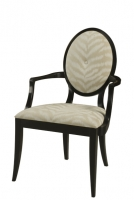 200A Oval Back Arm Chair