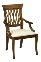202A Lattice Back Arm Chair