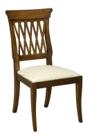 202S Lattice Back Side Chair