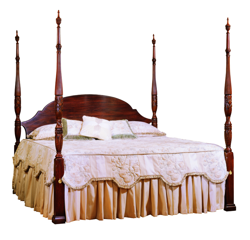 Rice Carved Headboard 151 Rice Carved Bed