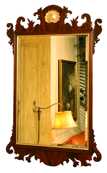 H-6 Chippendale Mirror