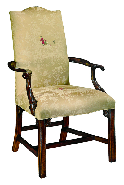 125A Upholstered Arm Chair