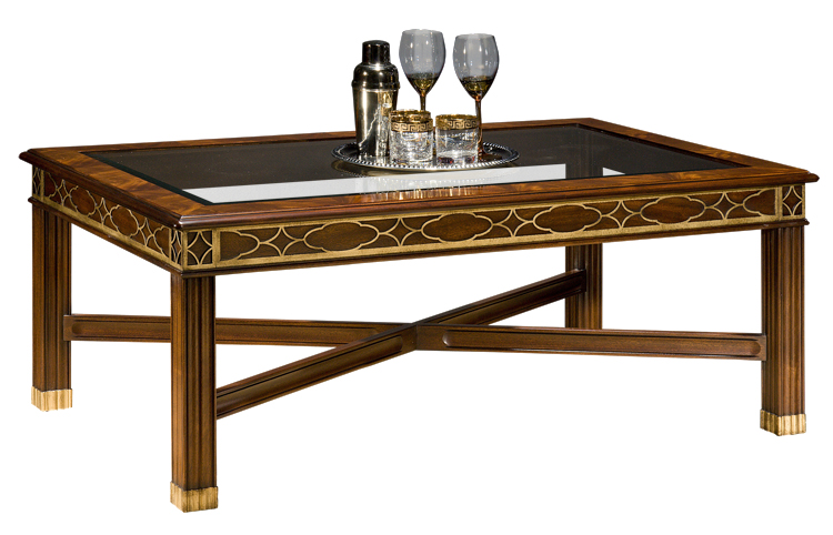 5232G Glass Top Cocktail Table