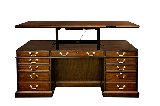 lift top desk better homes and gardens hhed70w lift top executive desk