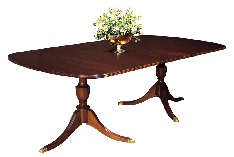 2209 Double Pedestal Dining Table